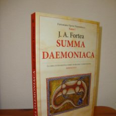 Libros de segunda mano: SUMMA DAEMONIACA - J. A. FORTEA - COMO NUEVO, 2020. Lote 262957310