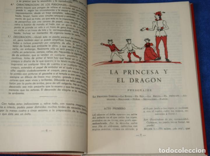 Libros de segunda mano: Teatro Infantil - Delegación Nacional de la Sección Femenina de F.E.T y de las J.O.N.S (1960) - Foto 3 - 262959565
