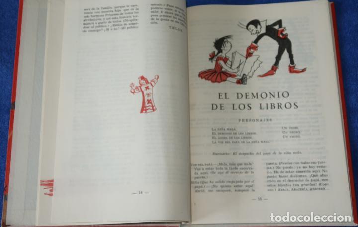 Libros de segunda mano: Teatro Infantil - Delegación Nacional de la Sección Femenina de F.E.T y de las J.O.N.S (1960) - Foto 4 - 262959565