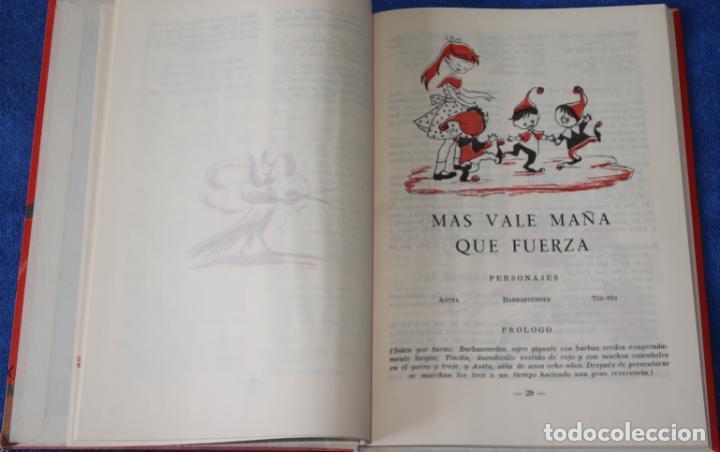 Libros de segunda mano: Teatro Infantil - Delegación Nacional de la Sección Femenina de F.E.T y de las J.O.N.S (1960) - Foto 6 - 262959565