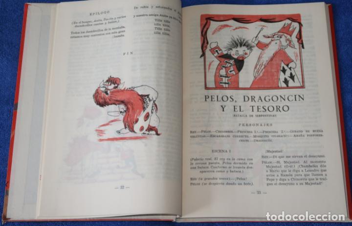 Libros de segunda mano: Teatro Infantil - Delegación Nacional de la Sección Femenina de F.E.T y de las J.O.N.S (1960) - Foto 7 - 262959565
