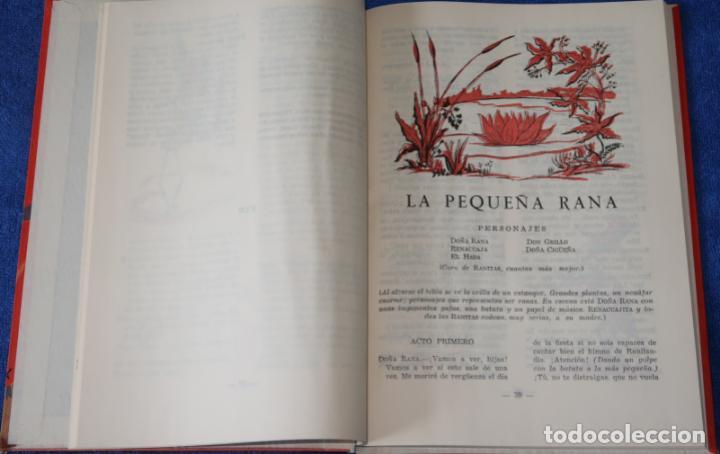 Libros de segunda mano: Teatro Infantil - Delegación Nacional de la Sección Femenina de F.E.T y de las J.O.N.S (1960) - Foto 8 - 262959565