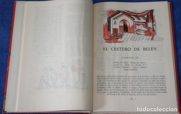 Libros de segunda mano: Teatro Infantil - Delegación Nacional de la Sección Femenina de F.E.T y de las J.O.N.S (1960) - Foto 9 - 262959565