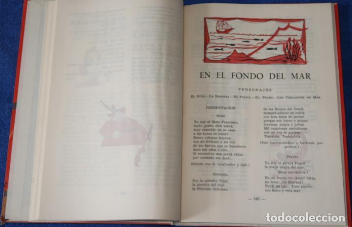 Libros de segunda mano: Teatro Infantil - Delegación Nacional de la Sección Femenina de F.E.T y de las J.O.N.S (1960) - Foto 10 - 262959565