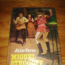 Libros de segunda mano: LIBRO JULIO VERNE MIGUEL STROGOFF EDITORIAL BROGUERA HISTORIAS JUVENILES AÑO 1979. Lote 263002420