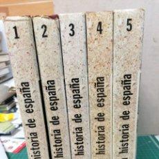 Libros de segunda mano: NUEVA HISTORIA DE ESPAÑA EDAF. 5 VOLÚMENES.. Lote 263010585