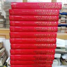 Libros de segunda mano: HISTORIA DE LA HUMANIDAD. BAJO PATROCINIO DE LA UNESCO. 20 VOL.. Lote 263011820