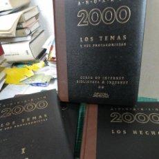 Libros de segunda mano: LOTE 4 ANUARIO 2000. LOS HECHOS, LOS TEMAS Y SUS PROTAGONISTASDIFUSORA INTERNACIONAL. Lote 263021300