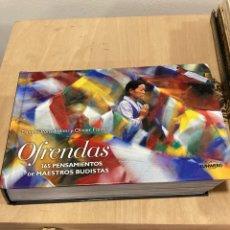 Libros de segunda mano: LIBRO OFRENDAS 365 PENSAMIENTO DE MAESTROS BUDISTAS. Lote 263029135