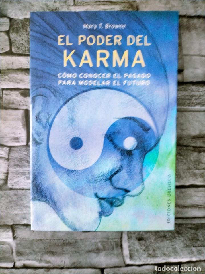 EL PODER DEL KARMA BROWNE ED.OBELISCO (Libros de Segunda Mano - Parapsicología y Esoterismo - Otros)