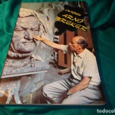 Libros de segunda mano: ARNO BREKER. J.M. INFIESTA. EDT. NUEVO ARTE THOR, 1982. Lote 263048865