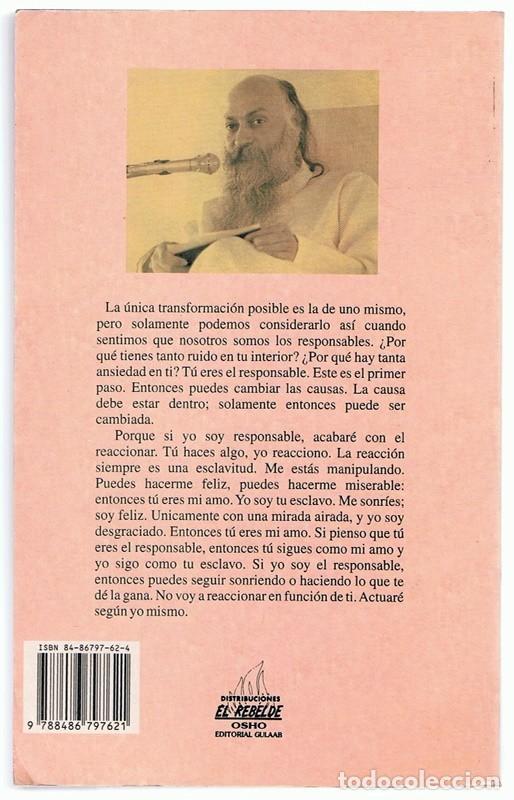 Libros de segunda mano: LA ALQUIMIA SUPREMA VOL II OSHO - Foto 2 - 263076630