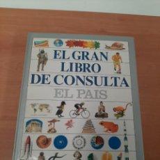 Libros de segunda mano: EL GRAN LIBRO DE CONSULTA EL PAIS. Lote 263098700