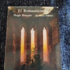 Libros de segunda mano: EL ROMANTICISMO / HUGH HONOUR, -ED ALIANZA. Lote 263122525