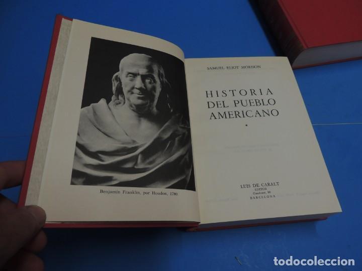Libros de segunda mano: HISTORIA DEL PUEBLO AMERICANO.- SAMUEL ELIOT MORISON - Foto 3 - 263130135
