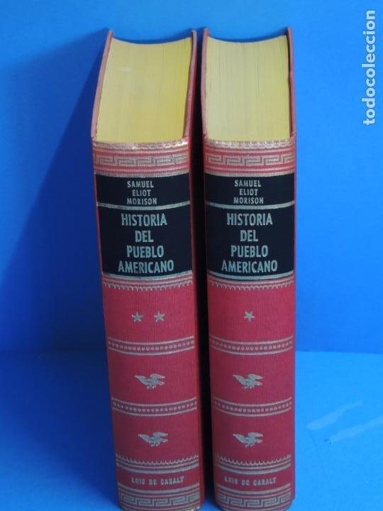 HISTORIA DEL PUEBLO AMERICANO.- SAMUEL ELIOT MORISON (Libros de Segunda Mano - Historia - Otros)