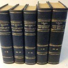 Libros de segunda mano: 1965 - CEAN BERMUDEZ - DICCIONARIO HISTÓRICO BELLAS ARTES + ADICIONES DEL CONDE DE LA VIÑAZA. Lote 263164065
