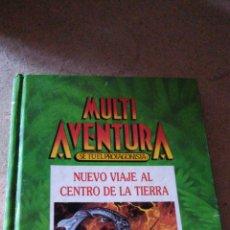 Libros de segunda mano: MULTI AVENTURA 1 - NUEVO VIAJE AL CENTRO DE LA TIERRA. Lote 263181150