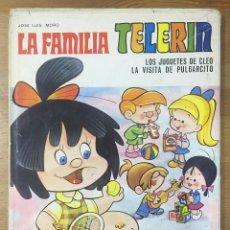 Libros de segunda mano: LA FAMILIA TELERIN - JOSELUIS MORO AÑO 1969. Lote 263184405