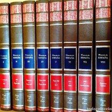Libros de segunda mano: HISTORIA DE ESPAÑA - 8 TOMOS. Lote 263186610