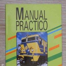 Libros de segunda mano: MANUAL PRÁCTICO LOCOMOTORA 269-200/300 AÑO 1988 RENFE TRENES FORMACIÓN. Lote 263193490