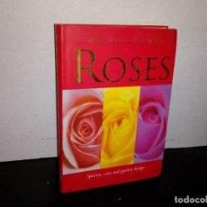 Libros de segunda mano: 7- IDIOMA INGLÉS - GUÍA DE ROSAS - SANDRA LINDNER. Lote 263219220