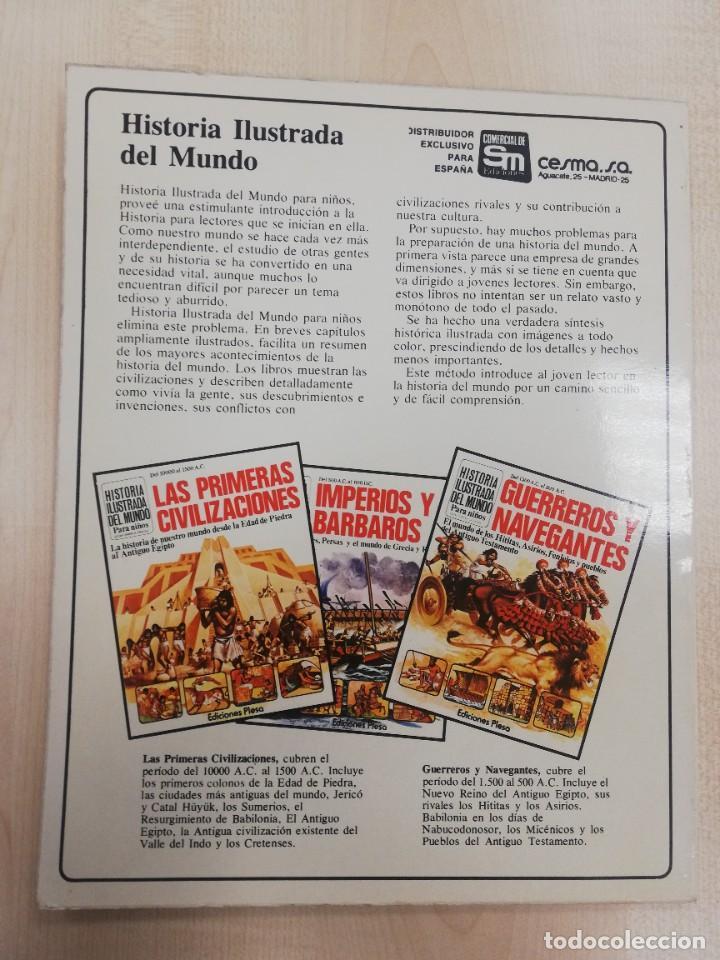 Libros de segunda mano: HISTORIA ILUSTRADA DEL MUNDO, IMPERIOS Y BÁRBAROS, ED. PLESA SM - Foto 2 - 263219340