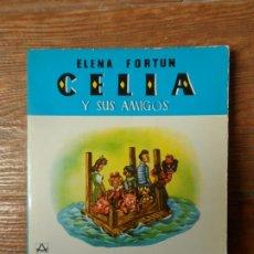 Libros de segunda mano: CELIA Y SUS AMIGOS ELENA FORTU EDITORIAL AGUILAR 1980. Lote 263219960