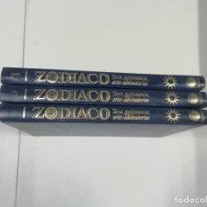 Libros de segunda mano: ZODIACO : TAROT QUIROMANCIA ARTES ADIVINATORIAS - EN TRES VOLÚMENES - 1990 - PLANETA DE AGOSTINI. Lote 263286645
