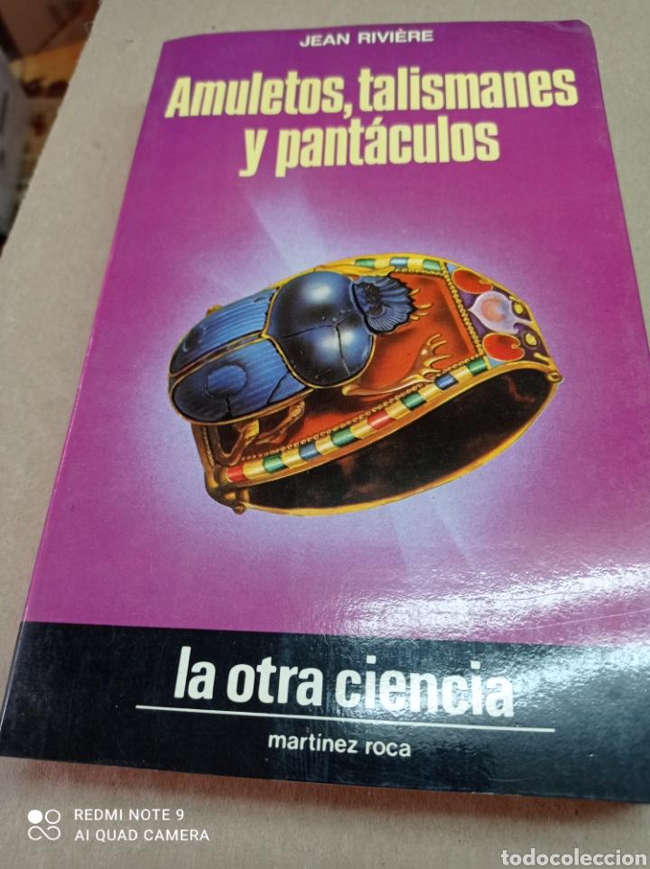 AMULETOS, TALISMANES Y PANTACULOS, JEAN RIVIERE (Libros de Segunda Mano - Parapsicología y Esoterismo - Otros)
