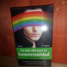 Libros de segunda mano: UN MAS ALLA PARA LA HOMOSEXUALID - DAVID MORRISON - DISPONGO DE MAS LIBROS. Lote 263682375
