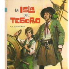 Libros de segunda mano: LA ISLA DEL TERORO. R.L. STEVENSON. COLECCIÓN AMABLE Nº 7. EDT. VASCO AMERICANA (EVA).(Z/14). Lote 263687280