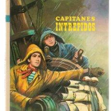 Libros de segunda mano: CAPITANES INTRÉPIDOS. COLECCIÓN AMABLE Nº 17. EDT. VASCO AMERICANA (EVA).(Z/14). Lote 263687610