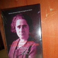 Libros de segunda mano: CLARA CAMPOAMOR - EL DERECHO DE LA MUJER - NUEVO / PRECINTADO - DISPONGO DE MAS LIBROS. Lote 263692930
