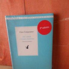 Libros de segunda mano: CLARA CAMPOAMOR - DEL AMOR Y OTRAS PASIONES ARTICULOS - NUEVO / PRECINTADO - DISPONGO DE MAS LIBROS. Lote 263693320