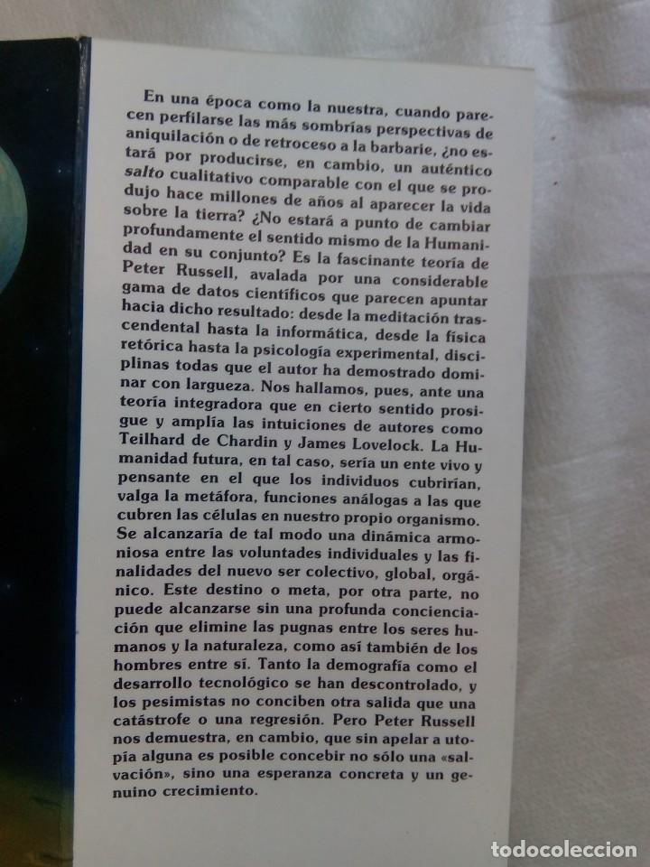Libros de segunda mano: UNA NUEVA TIERRA / PETER RUSSELL - Foto 4 - 263703130
