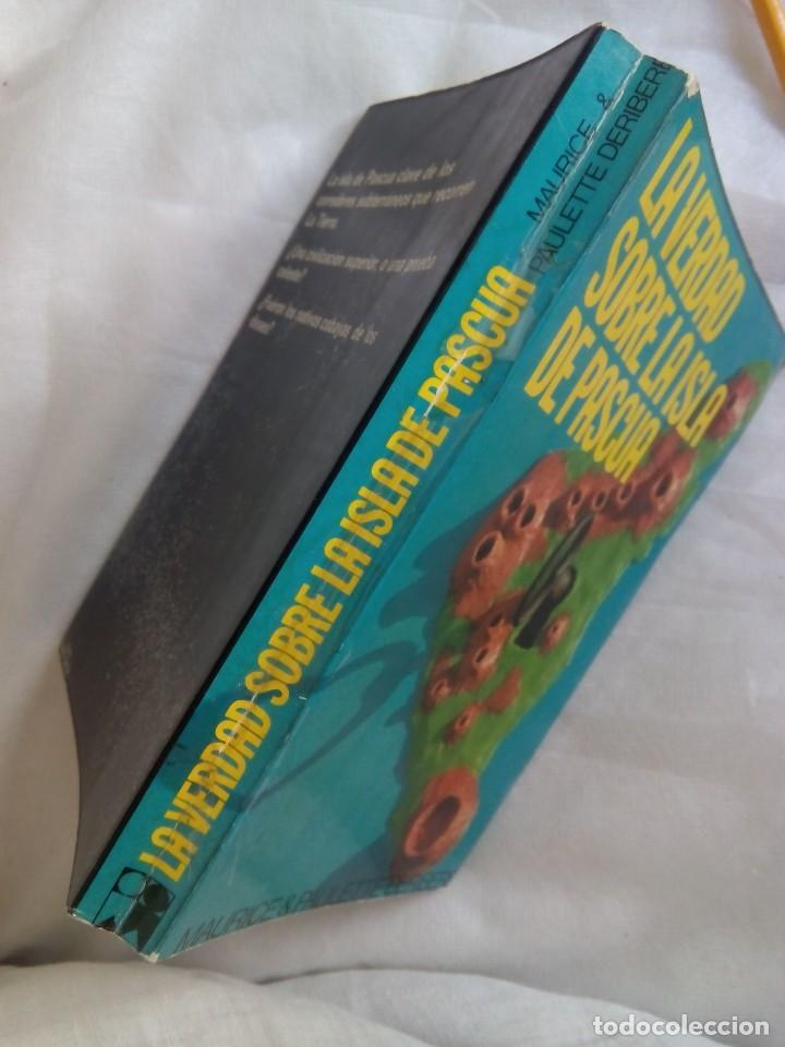 Libros de segunda mano: LA VERDAD SOBRE LA ISLA DE PASCUA / MAURICE Y PAULETTE DERIBERE - Foto 3 - 263704530