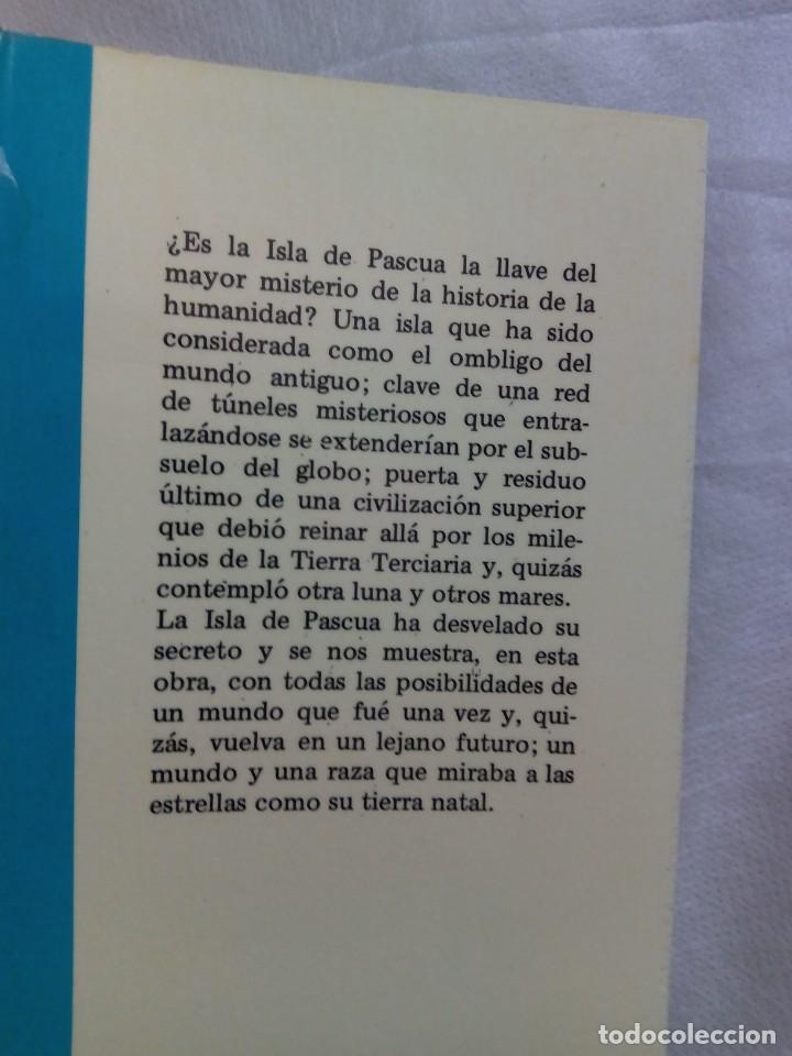 Libros de segunda mano: LA VERDAD SOBRE LA ISLA DE PASCUA / MAURICE Y PAULETTE DERIBERE - Foto 4 - 263704530