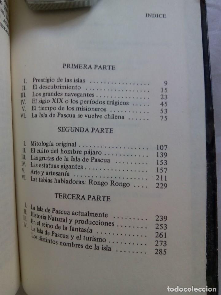 Libros de segunda mano: LA VERDAD SOBRE LA ISLA DE PASCUA / MAURICE Y PAULETTE DERIBERE - Foto 6 - 263704530