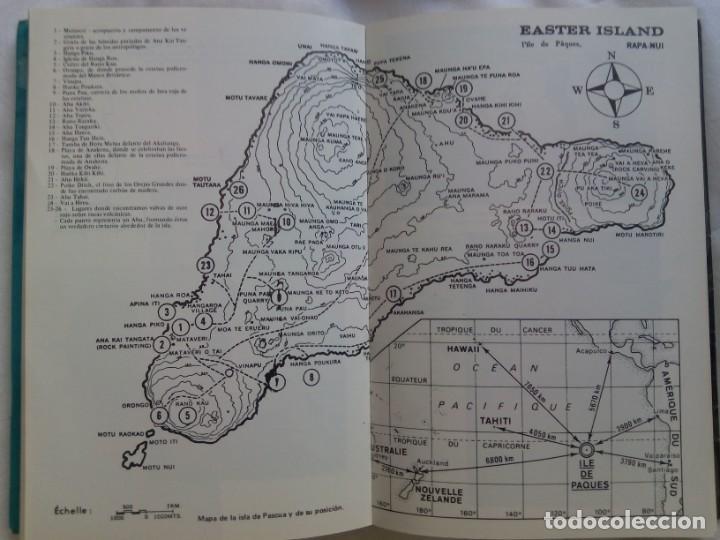 Libros de segunda mano: LA VERDAD SOBRE LA ISLA DE PASCUA / MAURICE Y PAULETTE DERIBERE - Foto 7 - 263704530