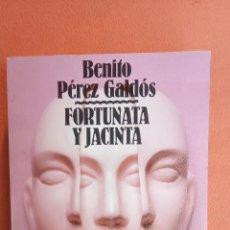 Libros de segunda mano: FORTUNA Y JACINTA 2. BENITO PÉREZ GALDÓS. ALIANZA EDITORIAL.. Lote 263706190