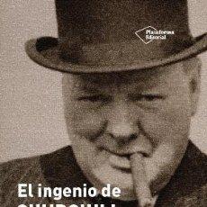 Libros de segunda mano: EL INGENIO DE CHURCHILL. - CHURCHILL, WINSTON.. Lote 263707890