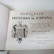Libros de segunda mano: PORTFOLIO HISTORIA DE ESPAÑA. Lote 264345864