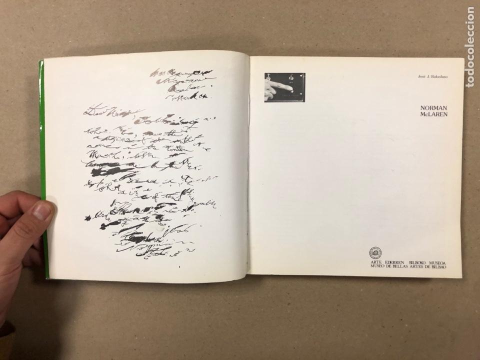 Libros de segunda mano: NORMAN MCLAREN OBRA COMPLETA (1932-1935). JOSÉ J. BAKEDANO. EDITA MUSEO DE BELLAS ARTES 1987. - Foto 2 - 264443134