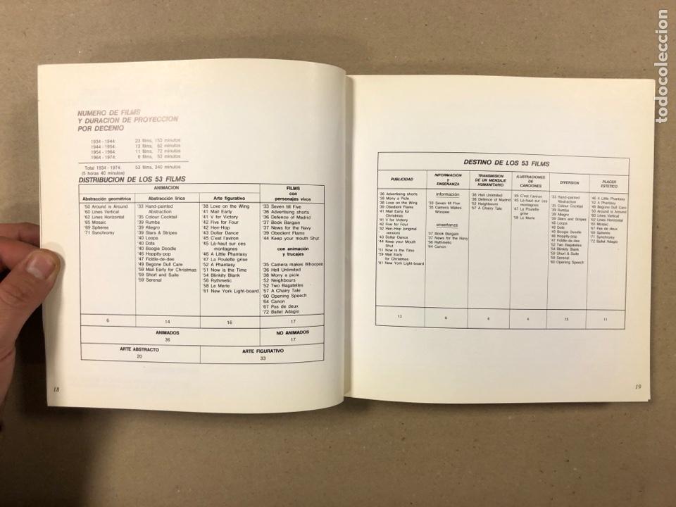 Libros de segunda mano: NORMAN MCLAREN OBRA COMPLETA (1932-1935). JOSÉ J. BAKEDANO. EDITA MUSEO DE BELLAS ARTES 1987. - Foto 4 - 264443134