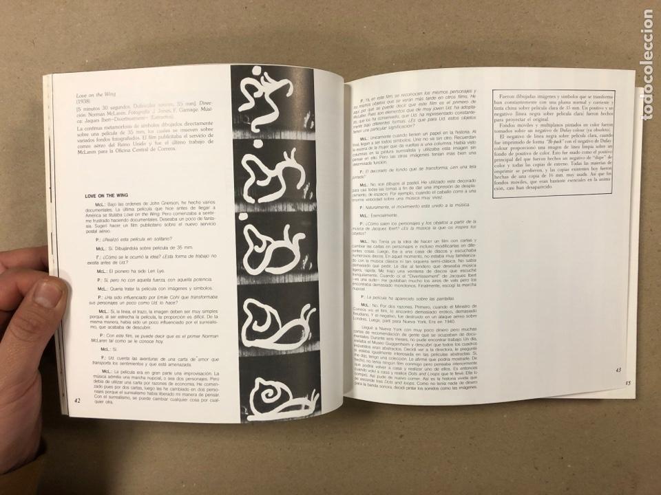 Libros de segunda mano: NORMAN MCLAREN OBRA COMPLETA (1932-1935). JOSÉ J. BAKEDANO. EDITA MUSEO DE BELLAS ARTES 1987. - Foto 5 - 264443134