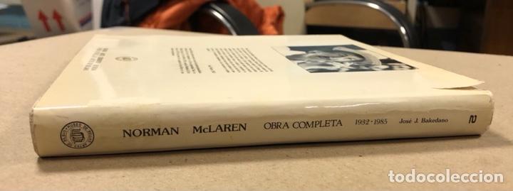 Libros de segunda mano: NORMAN MCLAREN OBRA COMPLETA (1932-1935). JOSÉ J. BAKEDANO. EDITA MUSEO DE BELLAS ARTES 1987. - Foto 12 - 264443134