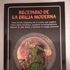 Livros em segunda mão: RECETARIO DE LA BRUJA MODERNA- SARAH LYDDON MORRISON. Lote 264449094