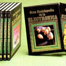 Libros de segunda mano: NUEVA. A ESTRENAR. GRAN ENCICLOPEDIA DE LA ELECTRONICA. COMPLETA. 12 TOMOS. RADIO. CIRCUITOS. ETC.. Lote 264518489