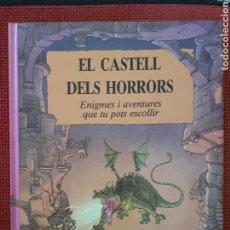 Libros de segunda mano: EL CASTELL DELS HORRORS - PATRICK BURSTON DIBUIXOS ALASTAIR GRAHAM. Lote 294373833